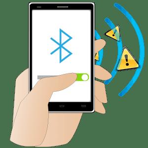 Attivare e disattivare il Bluetooth nelle impostazioni Bluetooth del dispositivo.